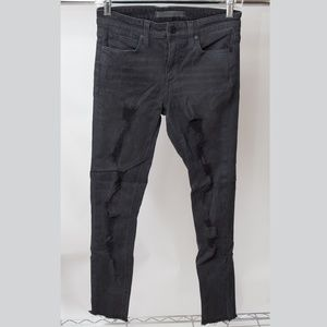 Joes Jeans Distressed Skinny Jeans Size 26